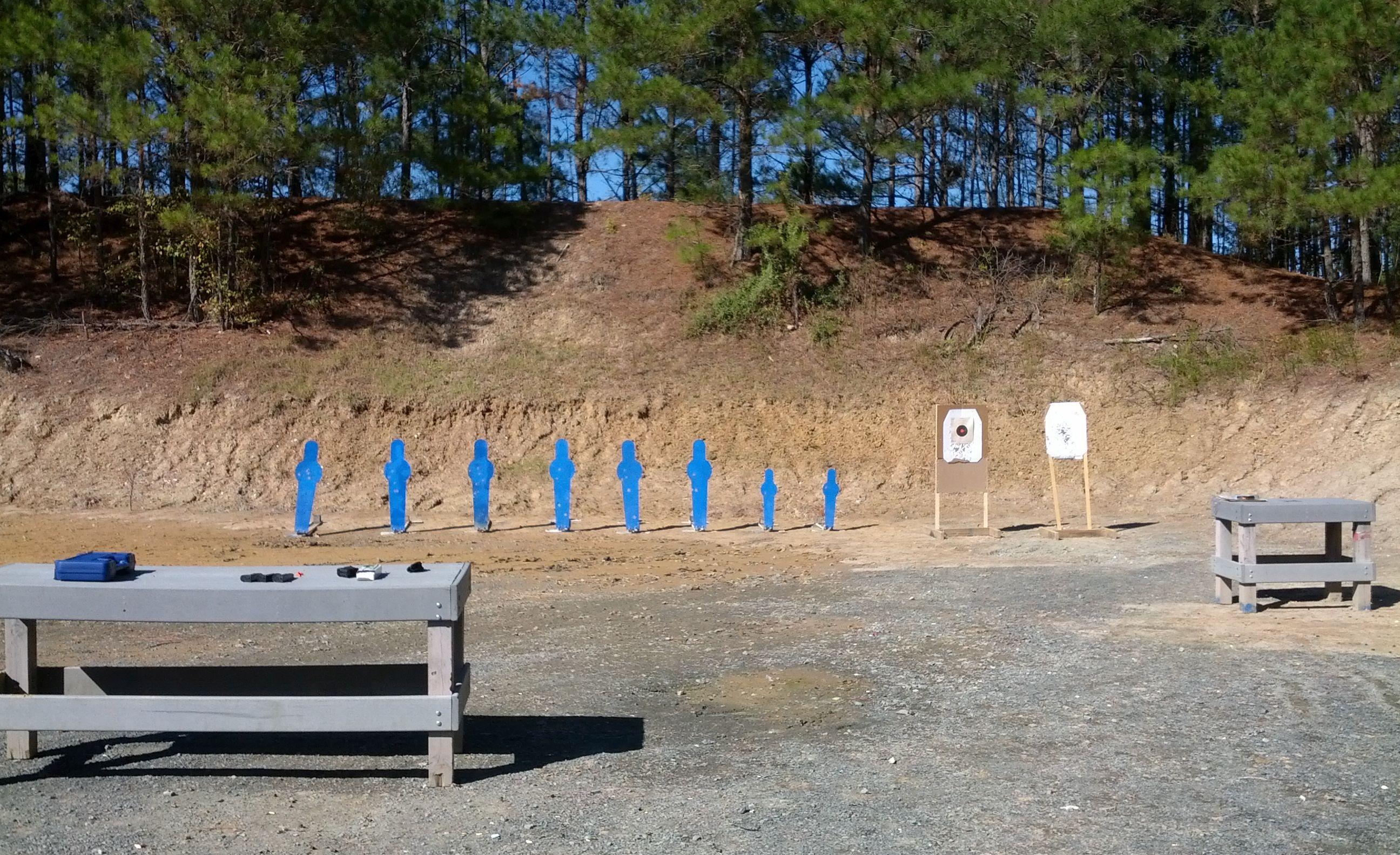 9mm Pistol Plinking range